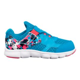 Under Armour Toddler Girls' Thrill RN AC Shoes - Blue/Pink/White