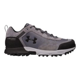 Under Armour Men's Post Canyon Low Waterproof Hiking Shoes - Graphite/Overcast Grey