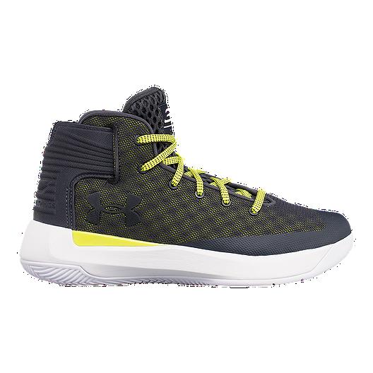 d468b730a9a5 Under Armour Kids  Curry 3Zero Grade School Basketball Shoes - Grey Green