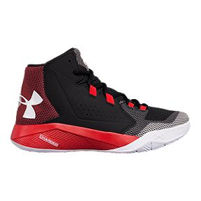 fefeeee2da00 Under Armour Kids  Torch Fade Grade School Shoes - Black Red