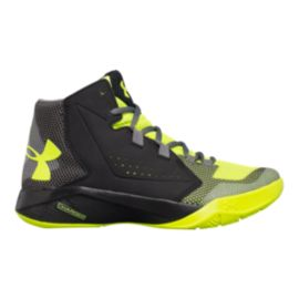 Under Armour Kids' Torch Fade Grade School Shoes - Black/Yellow