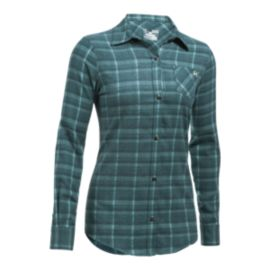 Under Armour Women's Better Flannel Long Sleeve Shirt