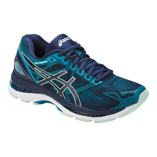 92d52ee73d4c4 ASICS Women's Gel Nimbus 19 Running Shoes - Blue - INSIGNIA BLUE/GLACIER  SEA/