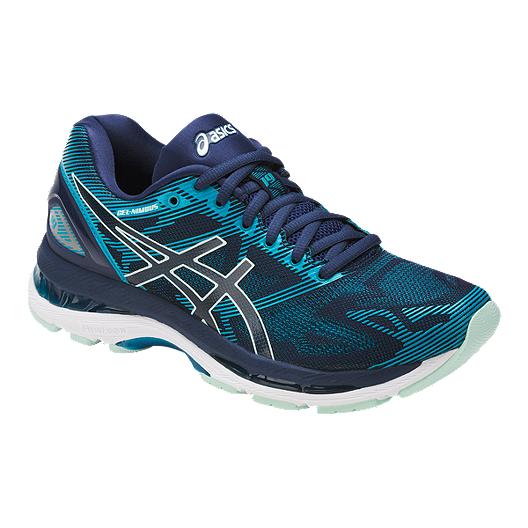 detailed look 92a10 0cc6a ASICS Women's Gel Nimbus 19 Running Shoes - Blue