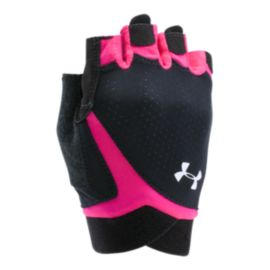 UA Women's CoolSwitch Flux Training Gloves - Pink