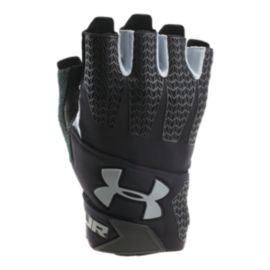 UA Men's ClutchFit Resistor Training Gloves - Black