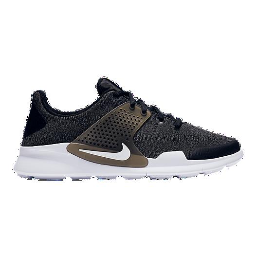 reputable site 96e7a 94972 Nike Men s Arrowz Shoes - Black White Grey   Sport Chek