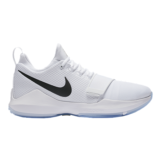 14ac021a171e Nike Men s PG1 Basketball Shoes - White Chrome