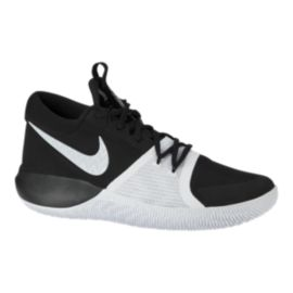 Nike Men's Zoom Assersion Basketball Shoes - Black/White