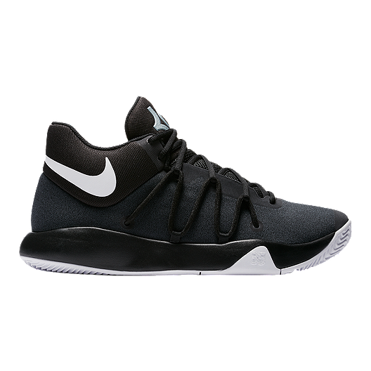 e80076266efd Nike Men s KD Trey 5 V Basketball Shoes - Black White