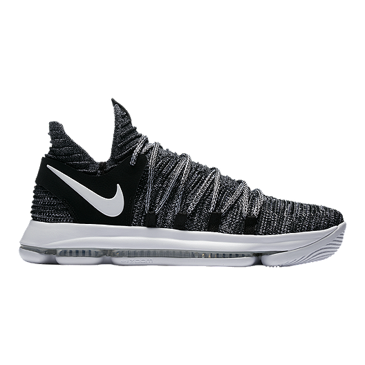 c78a36a0cc894 Nike Men s KDX Basketball Shoes - Black White