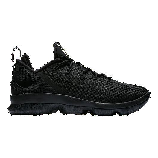 buy online 837e5 6621d Nike Men's LeBron XIV Low Basketball Shoes - Black/Grey ...