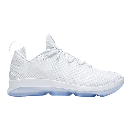 1a07470192833 Nike Men's LeBron XIV Low Basketball Shoes - White/Ice | Sport Chek