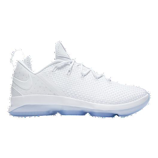 premium selection ef321 7e9ce Nike Men s LeBron XIV Low Basketball Shoes - White Ice   Sport Chek