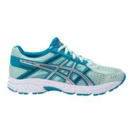 ASICS Girls' GEL-Contend 4 Grade School Shoes - Silver