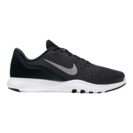 a753569e5926 Nike Women s Flex Trainer 7 Wide Width Training Shoes - Black White ...
