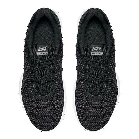 6b766fbf50f8b Nike Women s Flex Trainer 7 Wide Width Training Shoes - Black White. (5).  View Description