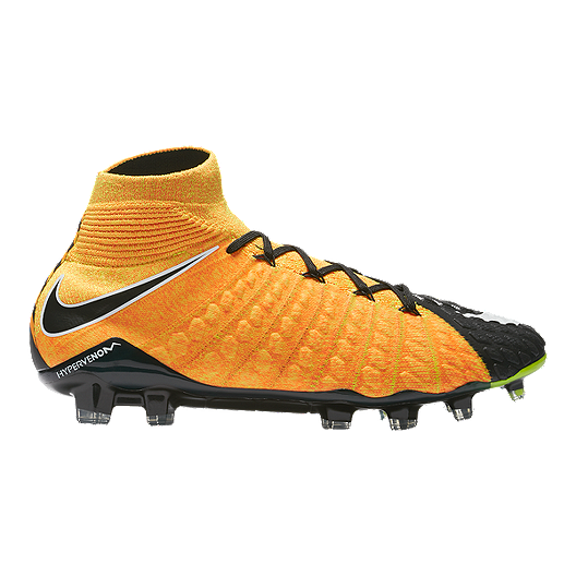 watch 054c8 07f0b Nike Men s HyperVenom Phantom III DF FG Outdoor Soccer Cleats - Orange White  Black   Sport Chek