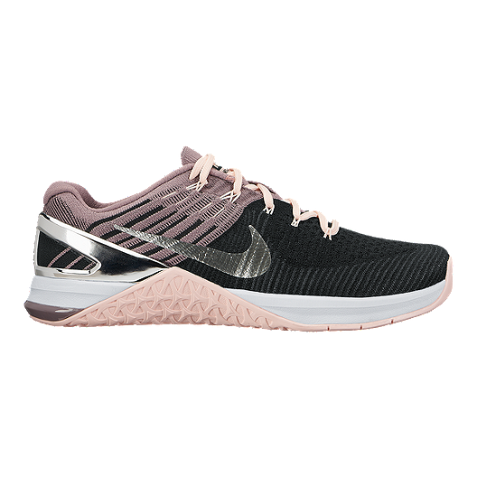 b7b85cb477a6 Nike Women s Metcon DSX Flyknit Training Shoes - Black Pink