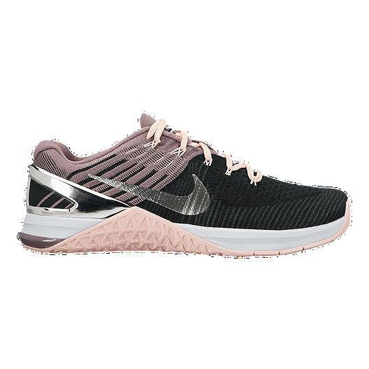 25e094779100 Nike Women s Metcon DSX Flyknit Training Shoes - Black Pink