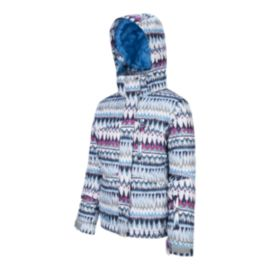 Firefly Girls' Tessa Print Winter Jacket