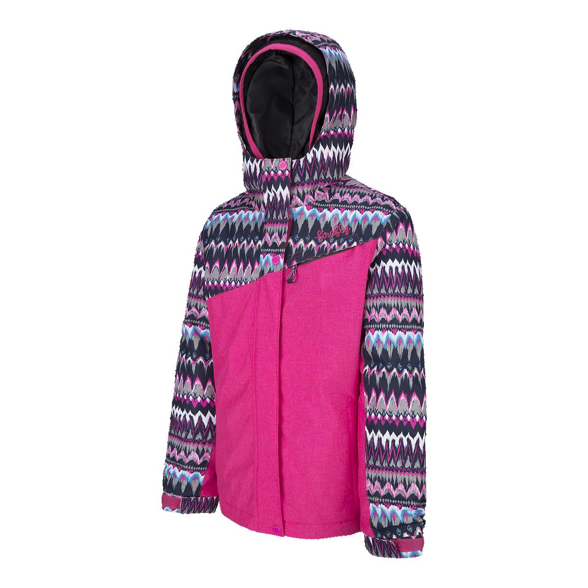 01c44ba53 Firefly Girls' Paris 3 In 1 Winter Jacket - PINKGLO MELANGE