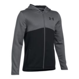 Under Armour Boys' Fleece Full Zip Hoodie