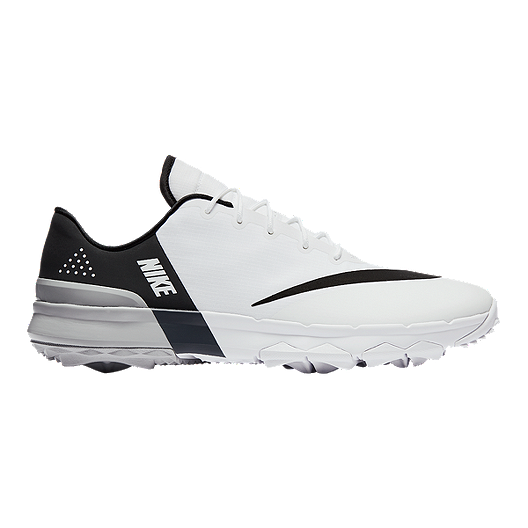 77ce23646af1 Nike Men s FI Flex Golf Shoes - White Grey Black