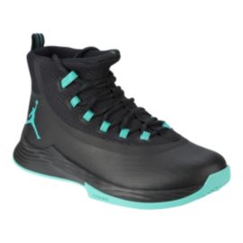 Nike Men's Jordan Ultra Fly 2 Basketball Shoes - Black/Jade