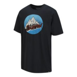 Burton Men's Retro Mountain Short Sleeve T Shirt - True Black