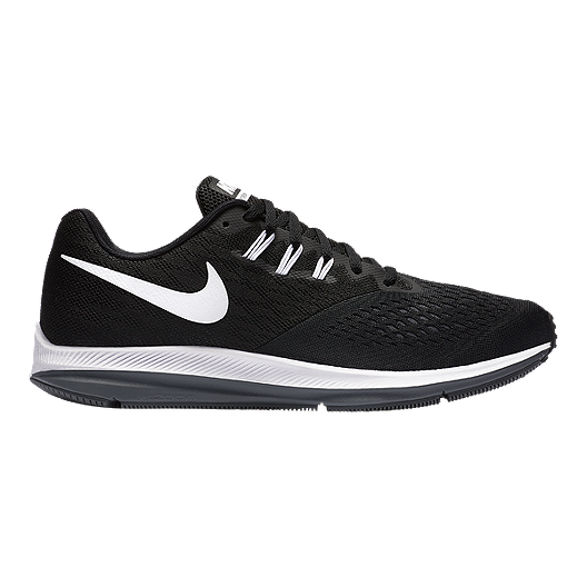 35c4c5668a9 Nike Men s Zoom Winflo 4 Running Shoes - Black White