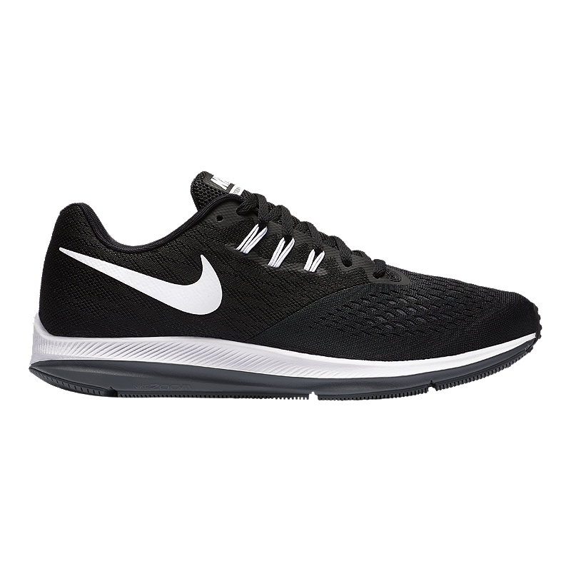 9a89e3ad4e6 Nike Men s Zoom Winflo 4 Running Shoes - Black White