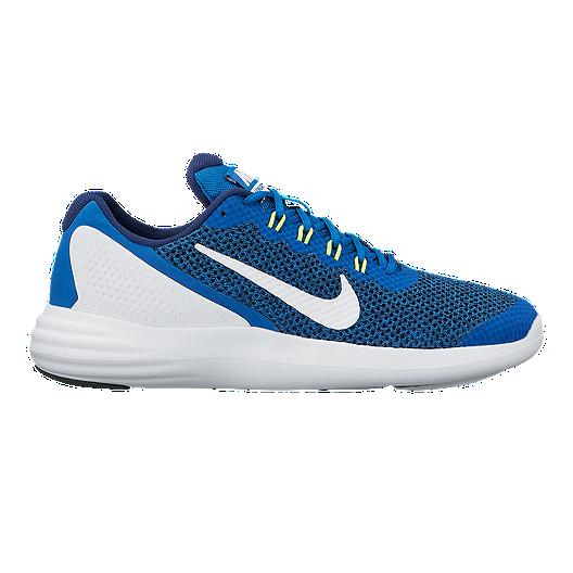 56b26577c089 Nike Kids  Lunar Apparent Grade School Shoes - Blue White