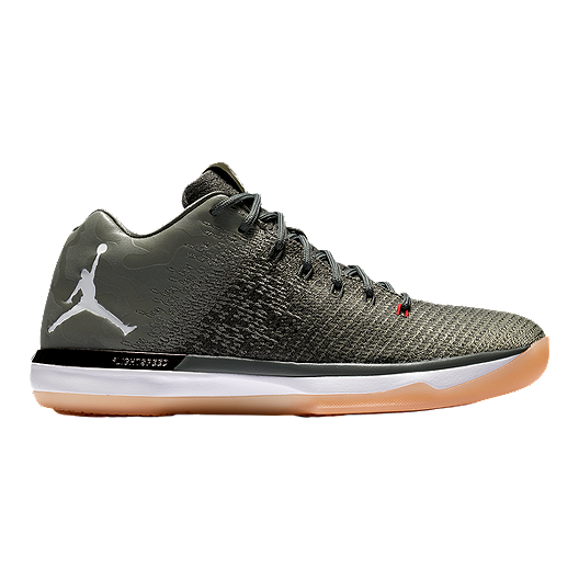 various colors 914ec 46123 Nike Men s Jordan XXXI Low Basketball Shoes - River Rock Dark Stucco    Sport Chek