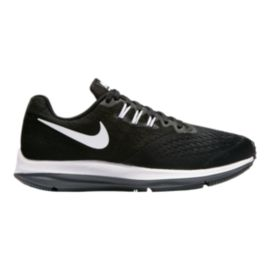 Nike Women's Zoom Winflo 4 Running Shoes - Black/White