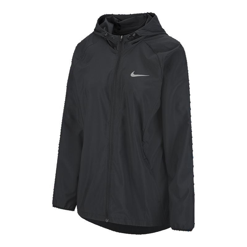 cbd1687e1615 Nike Women s Essential Hooded Running Jacket