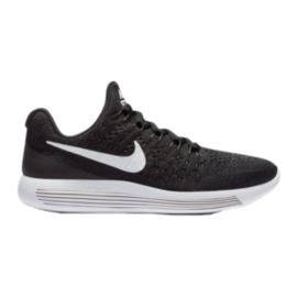 Nike Kids' Lunarepic Flyknit Grade School Shoes - Black/White