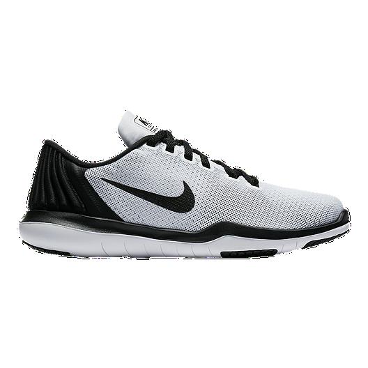 29bf1fcafa21 Nike Girls  Flex Supreme Grade School Shoes - Black White