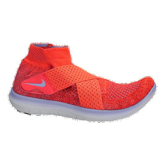 f802d8d599ef Nike Women s Free RN Motion Flyknit 2017 Running Shoes - Red Purple ...