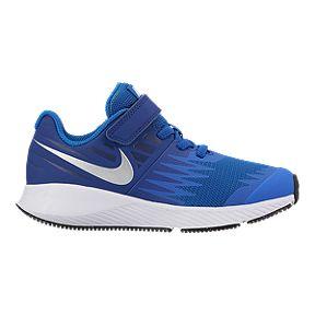 Nike Kids Star Runner Ac Preschool Shoes Blue White