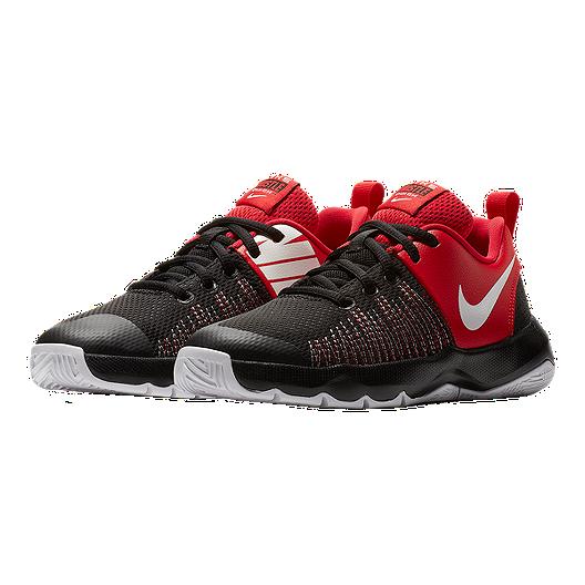08ba0d8761 Nike Kids' Team Hustle D 8 Quick Grade School Shoes - Black ...