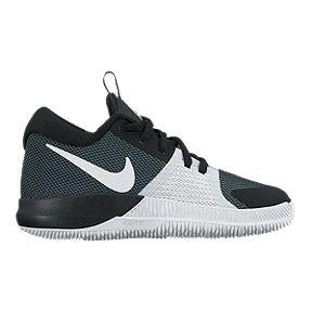 best service f4c17 dfd1f Nike Kids  Zoom Assertion Grade School Basketball Shoes - Black White