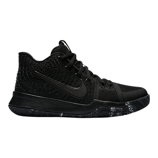 6f331f40467b Nike Kids  Kyrie 3 Grade School Basketball Shoes - Black