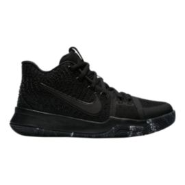 Nike Kids' Kyrie 3 Grade School Basketball Shoes - Black