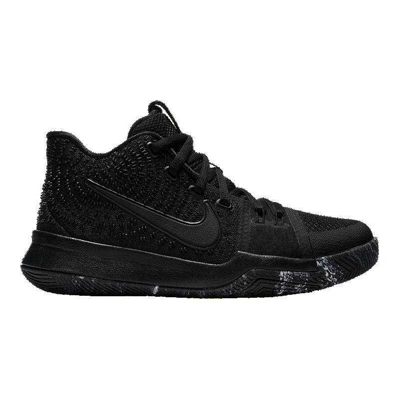 timeless design 61176 6e0fd Nike Kids' Kyrie 3 Grade School Basketball Shoes - Black ...