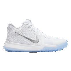 33c77c2d4fe9 ... sweden nike kids kyrie 3 grade school basketball shoes white chrome  sport chek f0075 0a5e3