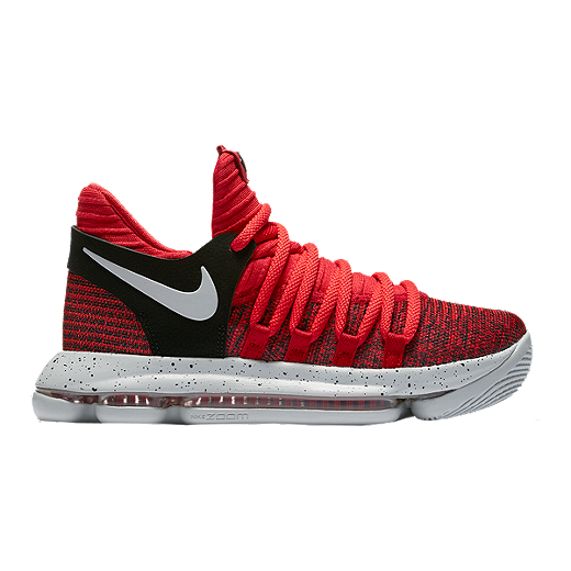 sports shoes 0defe a0b09 Nike Kids' Zoom KDX Grade School Basketball Shoes - Red ...