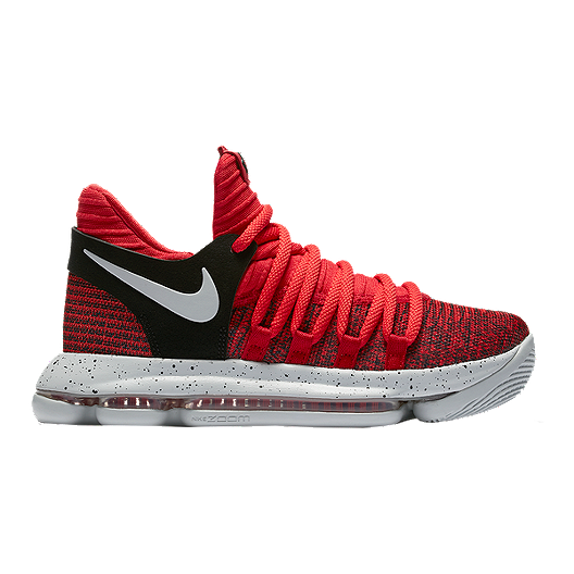 new product 5533e e77c6 Nike Kids  Zoom KDX Grade School Basketball Shoes - Red Platinum   Sport  Chek