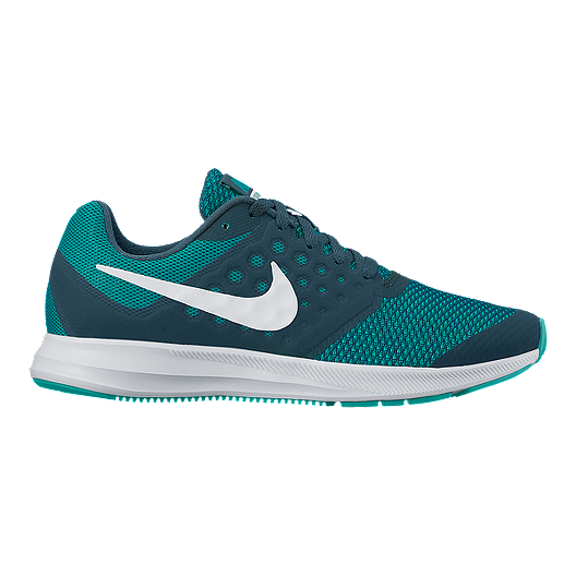 9934d8774a5f Nike Girls  Downshifter 7 Grade School Shoes - Green White