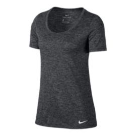 Nike Women's Scoop Legend Veneer Short Sleeve Shirt